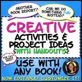 Creative Activities for ANY Novel or Short Story with Hand