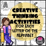 Creative Thinking Activities for Early Finishers