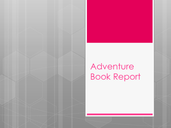 Creative Adventure Book Report