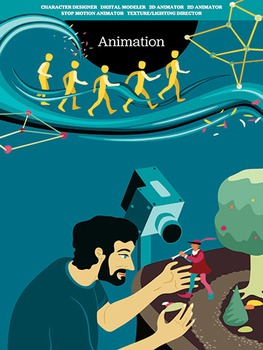 Creative Art Careers Classroom Poster - Animation