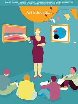 Creative Art Careers Classroom Poster - Art Education