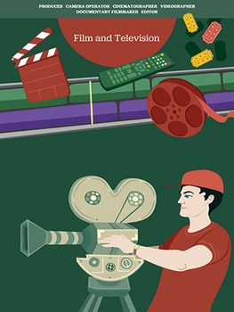 Creative Art Careers Classroom Poster - Film and Television
