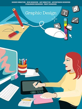 Creative Art Careers Classroom Poster - Graphic Design