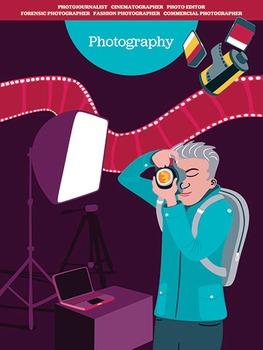 Creative Art Careers Classroom Poster - Photography