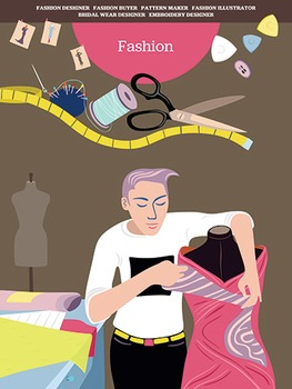 Creative Art Careers Classroom Poster - Fashion