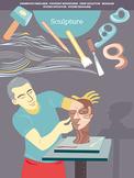 Creative Art Careers Classroom Poster - Sculpture