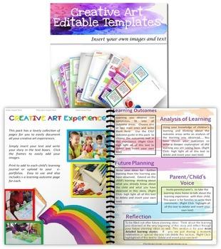 Creative Art Editable Portfolio Templates