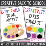 All About Me Art Activities and Classroom Decor