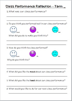 Creative Arts Performance Reflection
