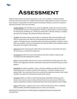 Creative Assessment