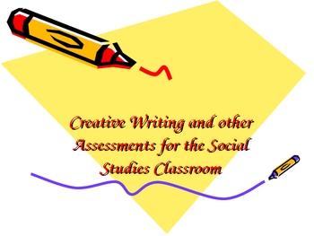 Creative Assessments for Social Studies