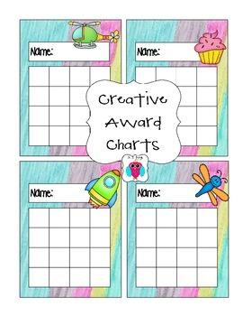 Creative Award Chart Mix