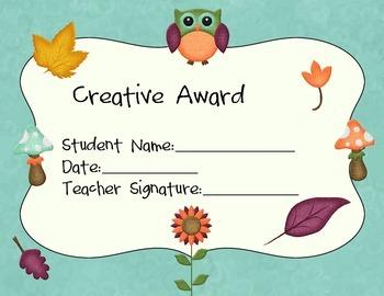 Creative Award Pack
