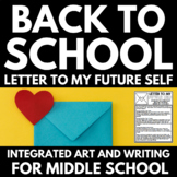Back to School Art and Writing Activities - Integrated Resources