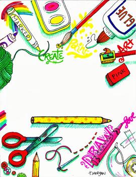 Creative Blank Slate by Tabitha Morgan of LostSockCreations