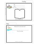 Creative Book Report- Book Report Recipe Cards