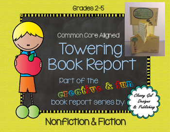 Creative Book Report (Fiction) * Book Project  * Craftivity
