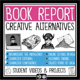 Creative Book Report Projects for Any Novel or Short Story - Video Introductions