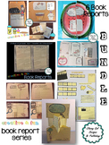 Creative Book Reports * Book Project  * Craftivity * Bundle