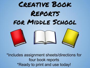 Creative Book Reports for Middle School