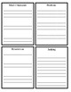 Creative Book Reports for Upper Elementary Grades - A Foldable Activity