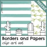 Creative Borders and Digital Papers [FREEBIE]