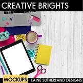 Creative Brights Styled Mockups