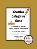 Creative Categories Game