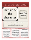 Creative Character Trait Poster