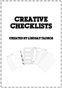 Creative Checklists