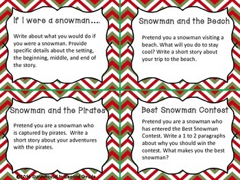 Creative Christmas Writing Prompts