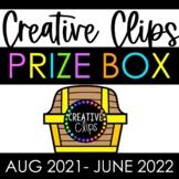 Creative Clips PRIZE BOX Subscription {Aug 2021-June 2022}