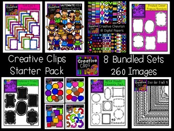 Creative Clips Starter Pack {Creative Clips Digital Clipart}