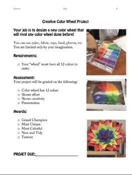 Creative Color Wheel Project