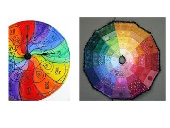 Creative Color Wheel Mandala