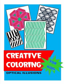 Creative Coloring for Kids Optical Illusions