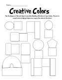 Creative Colors Blending Worksheets and Example