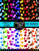 Creative Confetti Papers {Creative Clips Digital Clipart}