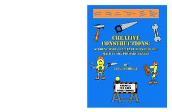 Creative Constructions: Student Made Challenge Books for Math