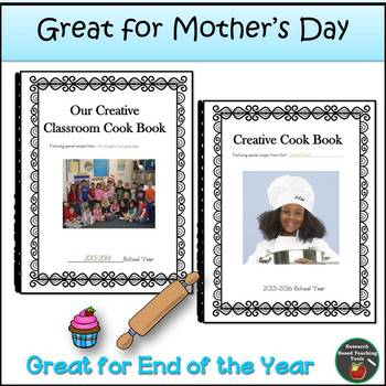Cookbook Mother's Day and End of the Year