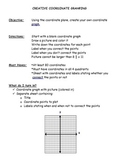 Coordinate Graphing Activity - Project (Assessment)