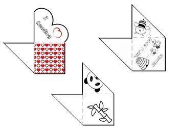 Creative Corner Bookmarks
