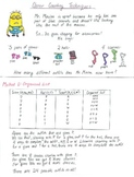 Creative Counting Notes for Middle School (Understanding Permutations)