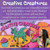Creative Creatures (Distance Learning Art Lesson)