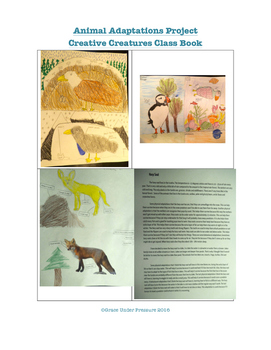Creative Creatures Project: Biomes, Structural and Behavioural Adaptations