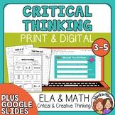 Creative & Critical Thinking