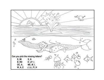 Creative Critters Activity Sheets!