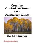 Creative Curriculam Tree Study: Vocabulary Words