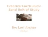 Creative Curriculu-Sand Unit:Webs