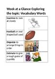 Creative Curriculum Balls Unit-Vocabulary